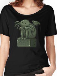 Pixel Cthulhu Women's Relaxed Fit T-Shirt
