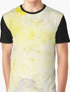 Yellow Wash Graphic T-Shirt