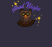 Owl says Good Night Tank Top
