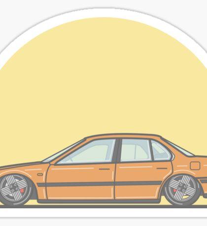 Honda Accord CB-7 Vector Illustration Sticker