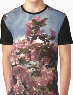 Crabapple Tree Blossoms Graphic T-Shirt