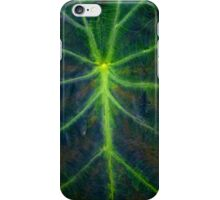 Green Veins iPhone Case/Skin