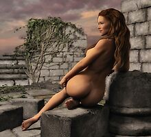 Naked Ruins  by Gypsykiss