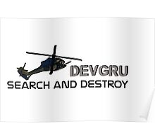 DEVGRU- we will come and find you! Poster