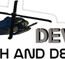 DEVGRU- we will come and find you! Sticker