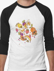 tropical dream Men's Baseball ¾ T-Shirt