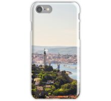 Old lighthouse in the bay of Trieste iPhone Case/Skin