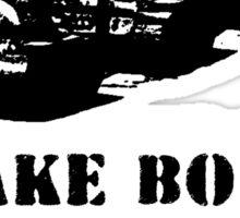 Make Boba Not War Sticker