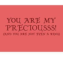 Nerd Valentines: My precious! Photographic Print