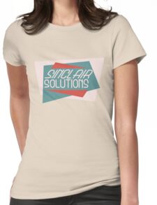 Bioshock: Sinclair Solutions Womens Fitted T-Shirt