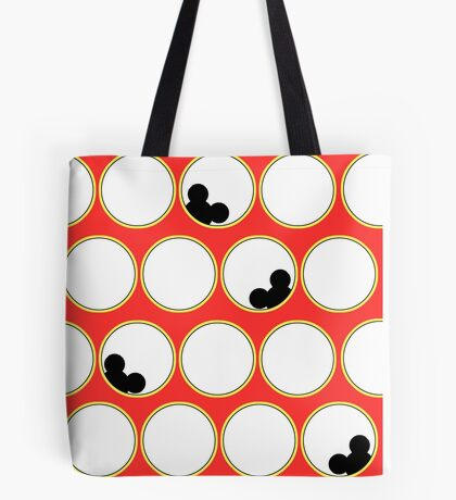 Peek-a-boo Mickey Tote Bag