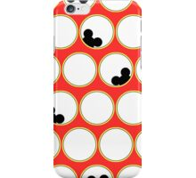 Peek-a-boo Mickey iPhone Case/Skin