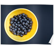 Blueberry Bowl Poster