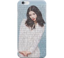 Marina Lyrics iPhone Case/Skin