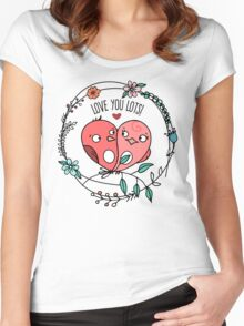 In Love Women's Fitted Scoop T-Shirt