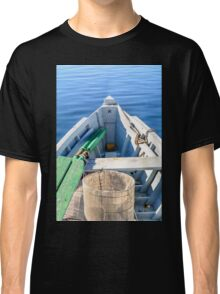 Bow of the boat with the star. Classic T-Shirt