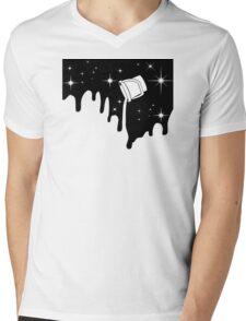minimal  Mens V-Neck T-Shirt