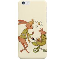 Incorrigibly Fatherly Rabbit iPhone Case/Skin