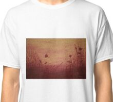 Poppies In The Wind Classic T-Shirt
