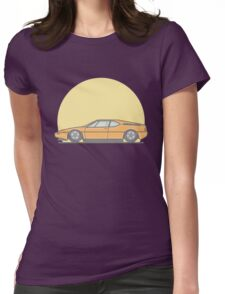 BMW M1 Vector Illustration Womens Fitted T-Shirt