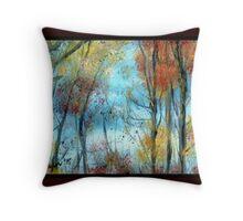 autumn winds Throw Pillow
