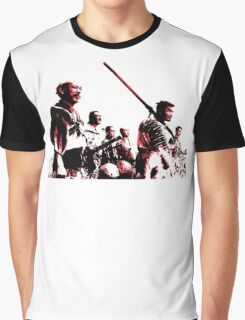 Shichinin no Samurai Graphic T-Shirt