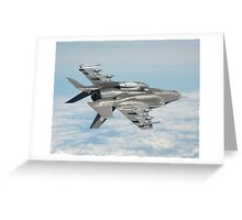 Military plane Greeting Card