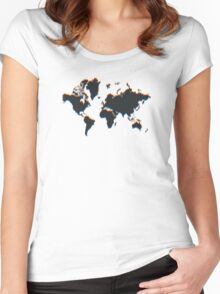 Global Perspective Women's Fitted Scoop T-Shirt
