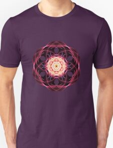 Flower in Abstract Unisex T-Shirt