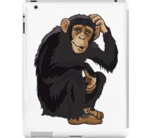 Chimpansee cartoon  iPad Case/Skin