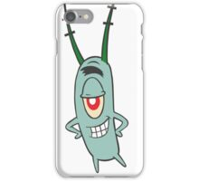 Sheldon plankton  iPhone Case/Skin