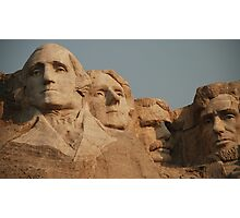 Mount Rushmore Photographic Print