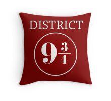 Fandom Crossover District 9 3/4 Throw Pillow