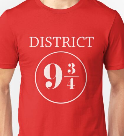 Fandom Crossover District 9 3/4 Unisex T-Shirt