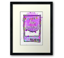 LOVE YOURSELF Framed Print