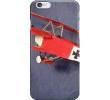 Fokker DR1 Red Baron Plane iPhone Case/Skin