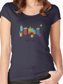 Block party Women's Fitted Scoop T-Shirt