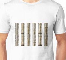 Silver Sabi Stripes Unisex T-Shirt