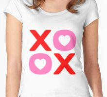 XOXO Valentine's Day Women's Fitted Scoop T-Shirt