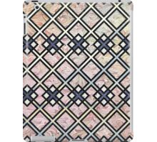 Texture Meets Patterned Color iPad Case/Skin