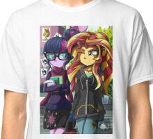 MLP EQG: Twilight and Sunset Classic T-Shirt