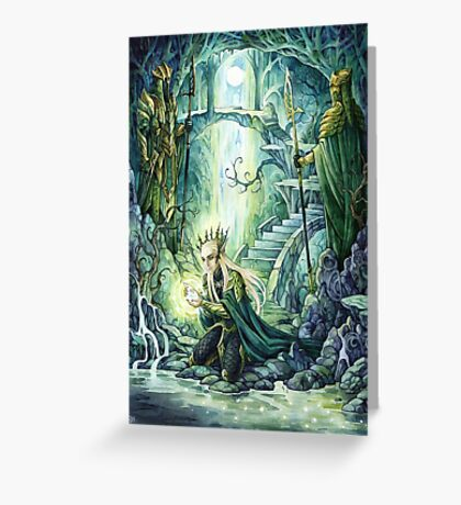 Magic River Greeting Card