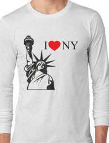 Splash I <3 NY Daryl Hannah Tom Hanks Mermaid Madison Long Sleeve T-Shirt