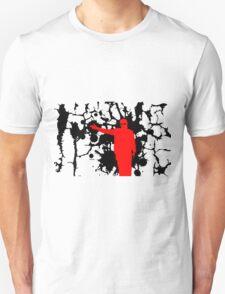 Grimy Twenty one pilots outline T-Shirt