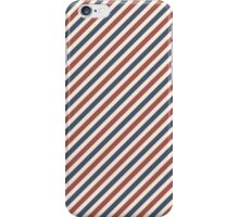 Red, White and Blue Stripes iPhone Case/Skin