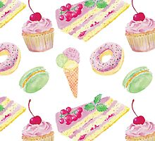 Sweets tasty print by ManonLabe