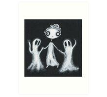 Walking the Ghosts Art Print