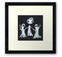 Walking the Ghosts Framed Print