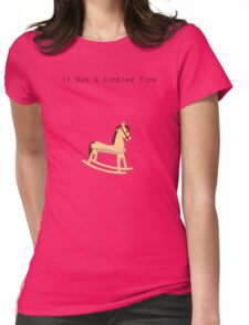 How I miss that horse Womens Fitted T-Shirt
