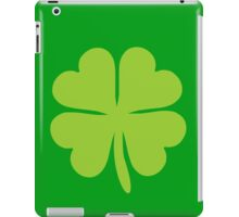 Lucky Irish Shamrock Clover iPad Case/Skin